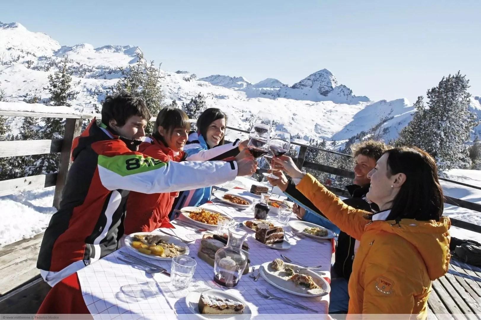 après-ski in Cavalese