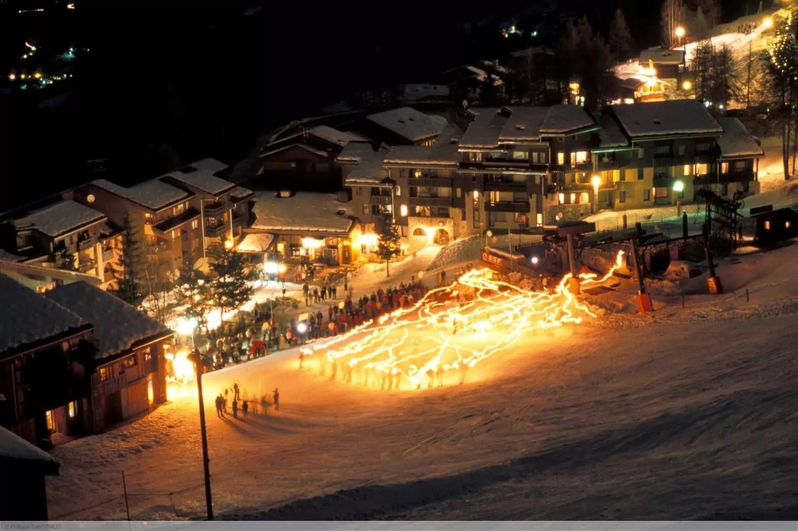 après-ski in Les Coches
