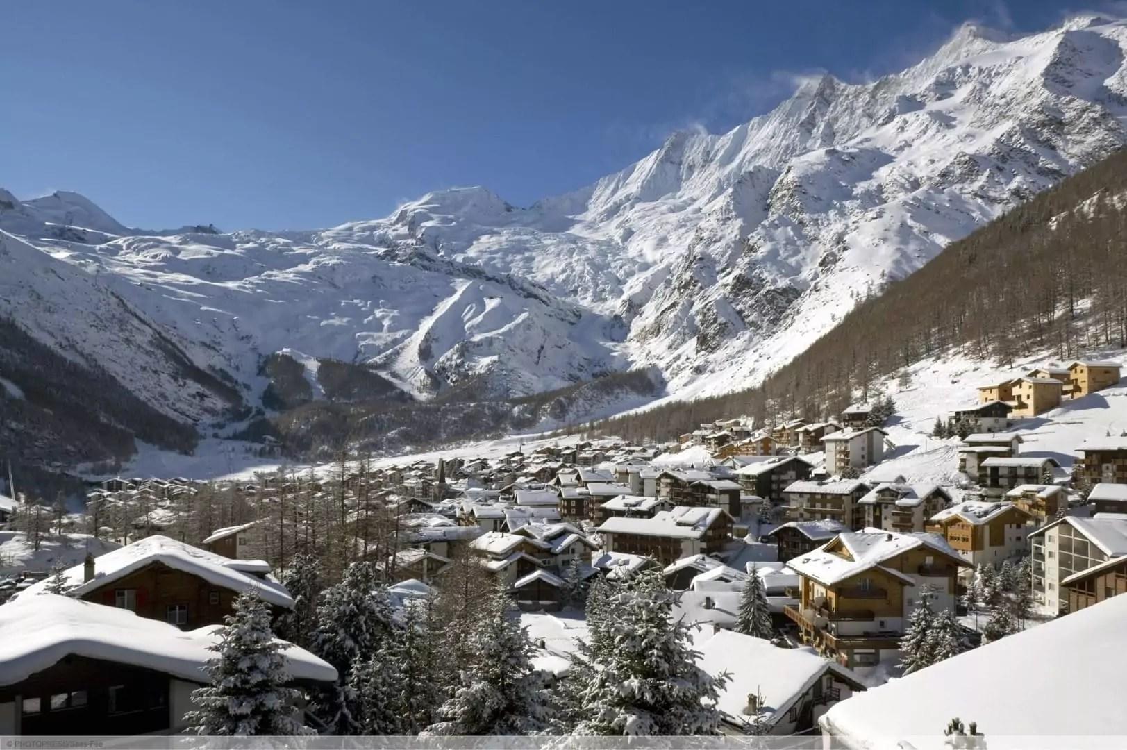 wintersport en aanbiedingen in Saas-Fee
