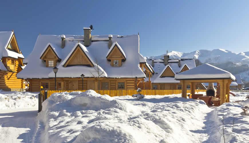 Sneeuwzekere wintersport in Polen