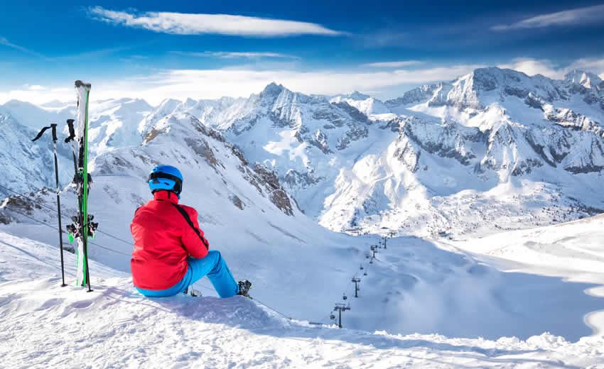Skien in Oostenrijk