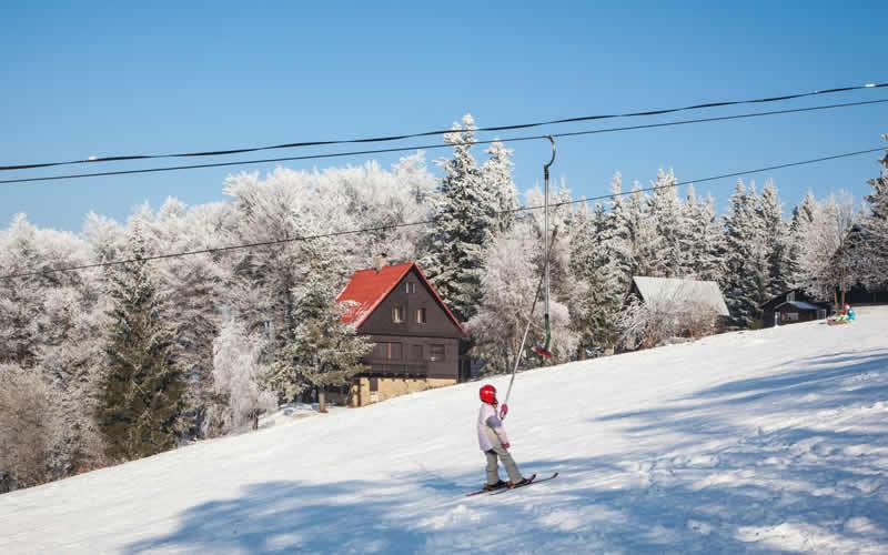 Wintersport in Tsjechië