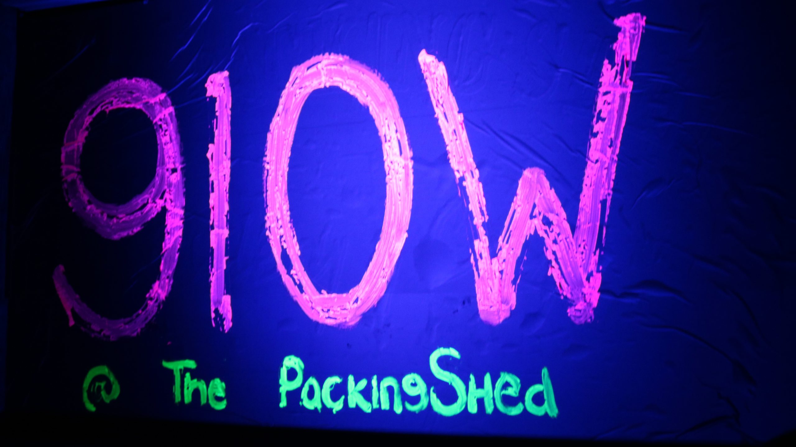 Glow at the Packing Shed