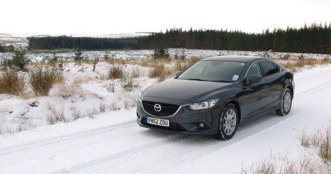 Mazda 6 Snow
