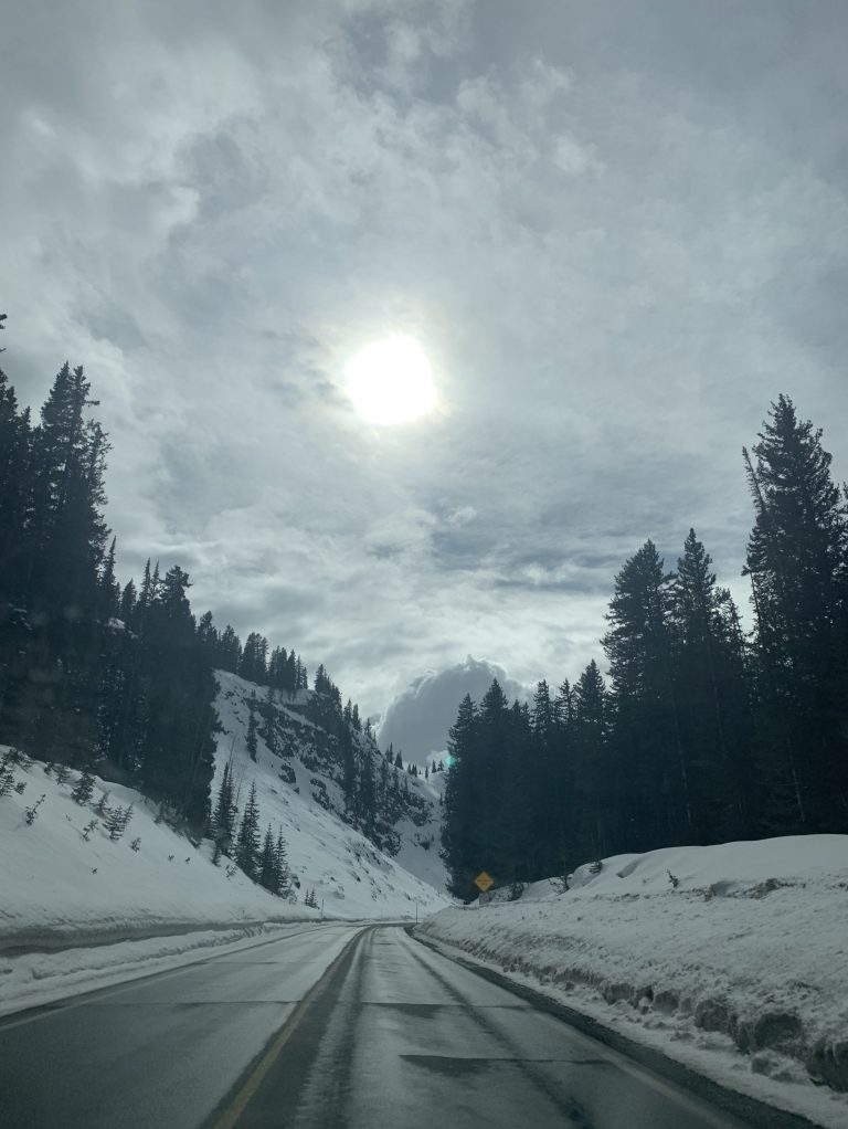 Somewhere up ahead…