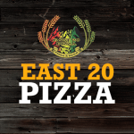 East 20 Pizza Logo