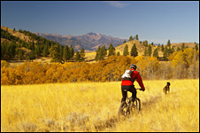 pipestone canyon bike trails in winthrop wa
