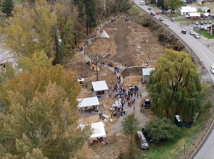 homestream park aerial photo