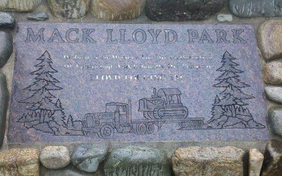 Mack Lloyd Park logo