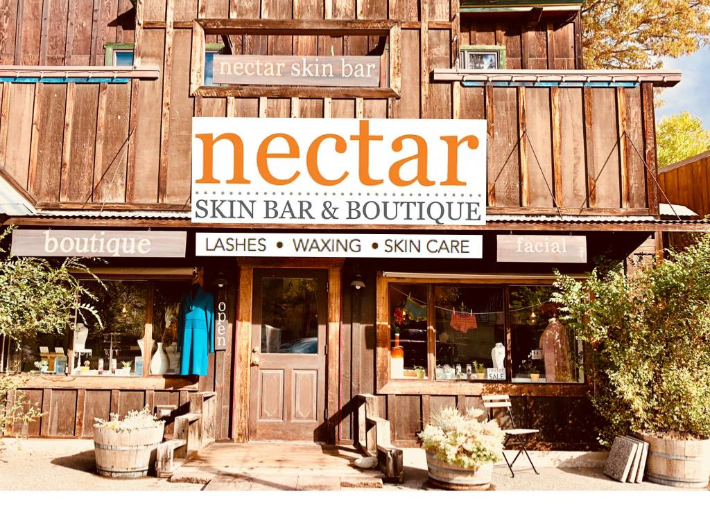 Nectar skin Bar and Boutique winthrop washington