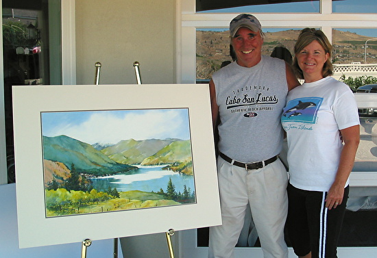 paula christen Watercolors art classes in Winthrop WA