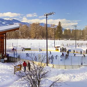 Winthrop Rink hockey ice skating