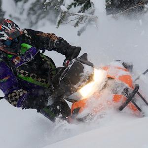 find snowmobile trails in Winthrop Washington
