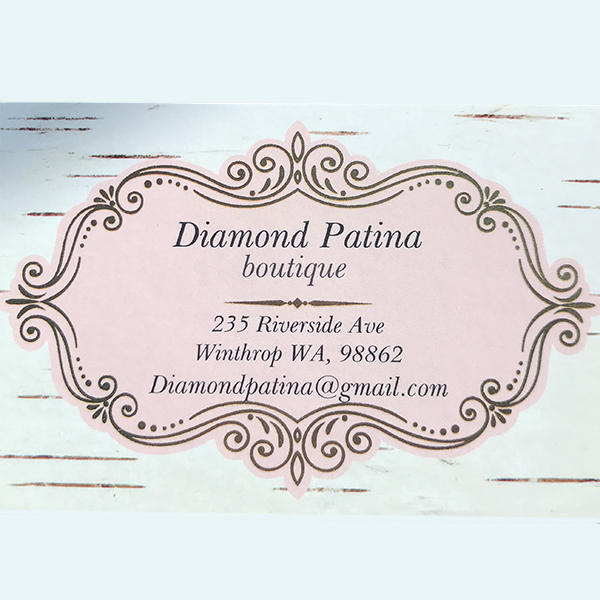 Diamond Patina WInthrop Boutique