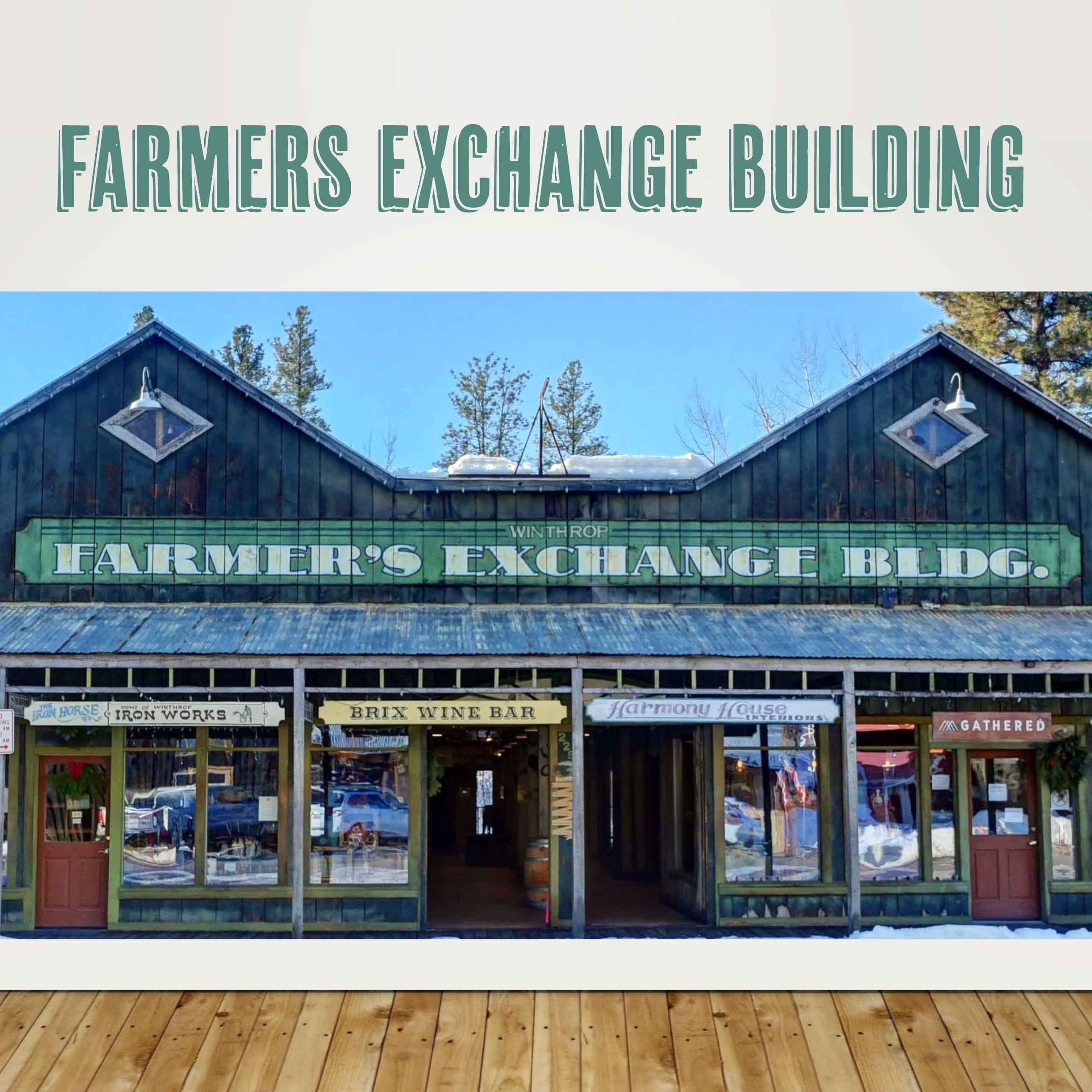 Located on the Boardwalk, the Farmers Exchange Building offers a variety of shopping and dining experiences