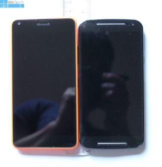 Lumia 640 vs Moto G 1