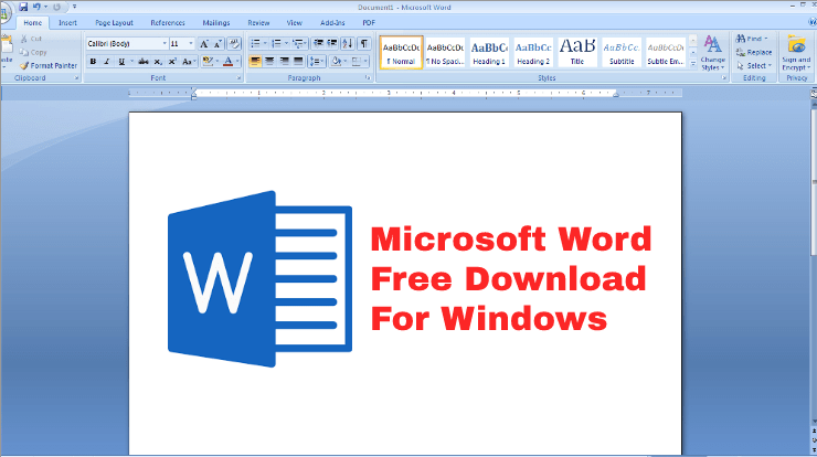Microsoft Word free download 2019