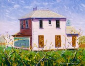 """Abandoned House in Old Cordelia"" 2005 by Daphne Wynne Nixon"