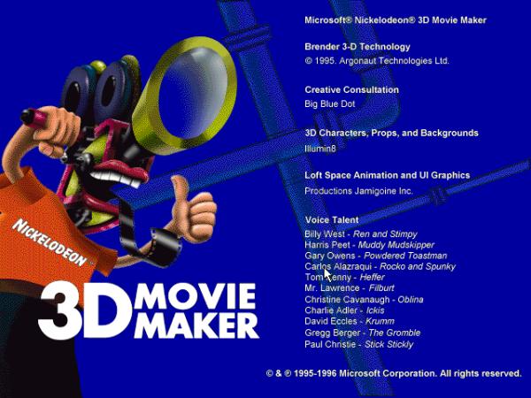Download Microsoft Nickelodeon 3D Movie Maker (PC) free ...