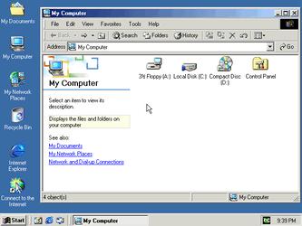 Windows Explorer - Windows 2000