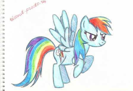Срисовка пони дружба это чудо – Как нарисовать пони ...