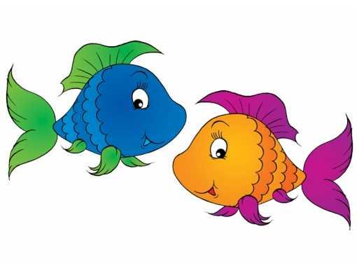 Детские картинки рыбки – Ой! Уроки рисования для ...