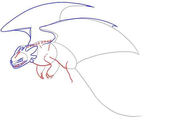 Рисунки карандашом как приручить дракона – Как нарисовать ...