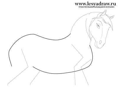 Рисунки спирит – Как нарисовать лошадь Спирит из Спирит ...