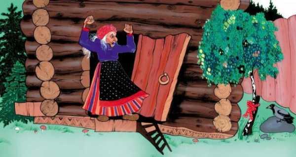 Рисунок бабы яги – Рисование поэтапно для детей - рисунок ...