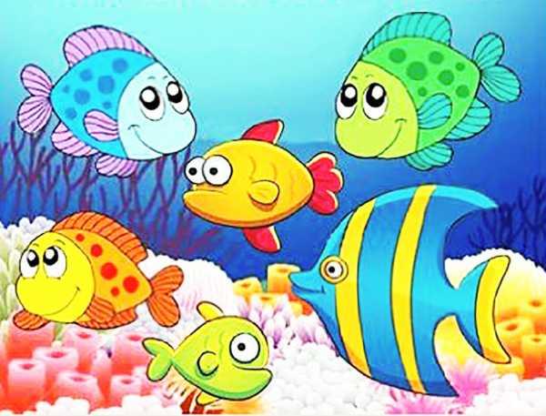 Рыбки детские рисунки – рыбы Фотографии, картинки ...