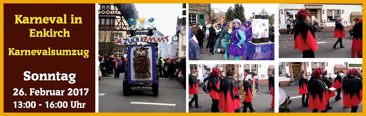 2017 – Karnevalsumzug in Enkirch