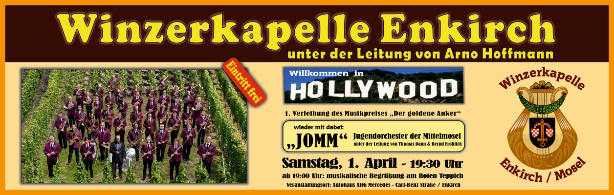 """2017 – Konzert """"Willkommen in Hollywood"""""""