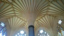 Die Decke eines großen Gebetsraum für die Mönche in Form eines Octagons