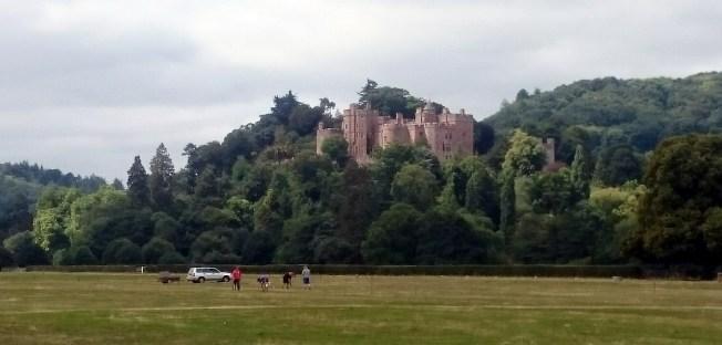 Anfahrt auf Dunster Castle
