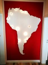 Südamerika und seine Hauptstädt