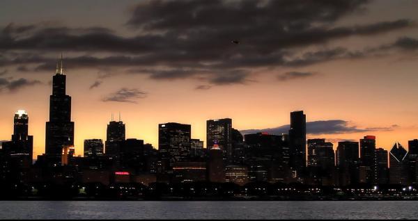 Города Чикаго живые обои