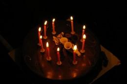 Na jubileuszowym spotkaniu nie mogło zabraknąć tortu...