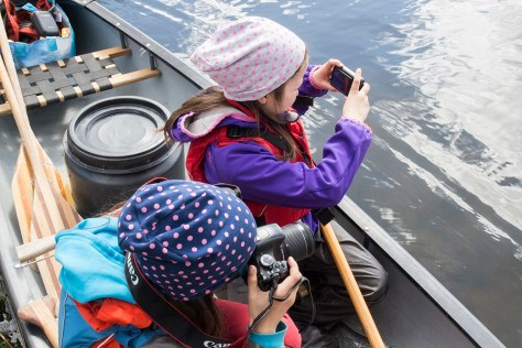 Zdjęć ze spływu nie zabraknie (fot. Katarzyna Ugorowska)