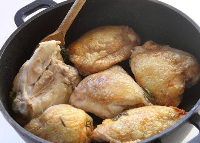 Pollo alla curcuma