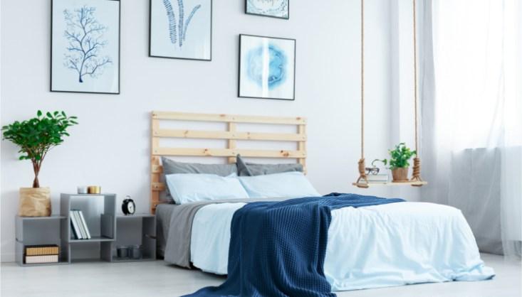 Le carte da parati sono perfette sulla parete dietro il letto, per creare un punto focale di. 3 Idee Per La Parete Dietro Al Letto Pg Magazine