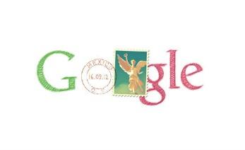 Logo google en colores de México