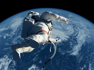 Día Mundial de la fotografía: mexicanos con talento 22-bigstock-The-astronaut-on-the-backgrou-51745093