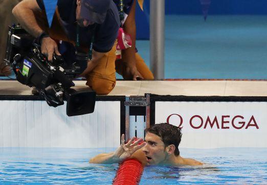 Michael Phelps consigue su oro 22, su cuarto oro en Río 2016 588641422