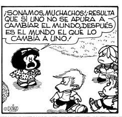 Mafalda cumple 52 años de cuestionar al mundo mafalda1