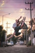 Este fotógrafo captó lo mejor de la CDMX con bailarines de ballet 12-1