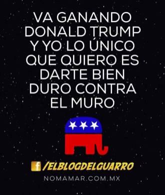 Los memes sobre la construcción del muro tras la victoria de Trump memes9-1