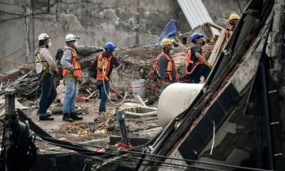 Continúan labores de rescate en cinco edificios, Edificios colapsados, México está de pie, Sismo 7.1, #FuerzaMéxico
