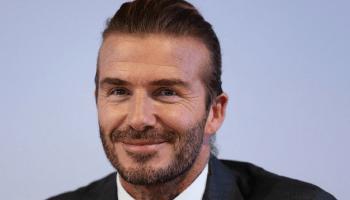 "Game Of Thrones, David Beckham se encontró a un actor de ""Game Of Thrones"", David Beckham, David Beckham es fan de Game Of Thrones, David Beckham y John Bradley, John Bradley, Sam Tarley"