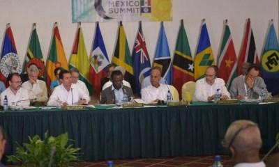 Peña Nieto convocó al mundo, Enrique Peña Nieto, Presidente de México, Comunidad del Caribe (Caricom), IV Cumbre México-Caricom, Banco de Desarrollo del Caribe, México