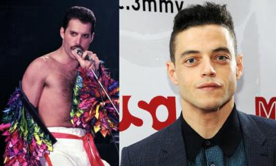 Rami Malek interpretando a Freddie Mercury, Rami Malek como Freddie Mercury, Fotos de Rami Malek interpretando a Freddie Mercury, película de Queen, película de Freddie Mercury